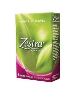 Възбуждащ гел за жени Zestra - 3 сашета
