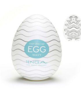 Tenga яйце за мастурбиране Wavy