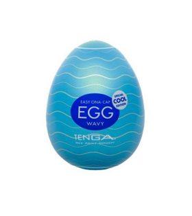 Мастурбатор-яйце охлаждащ