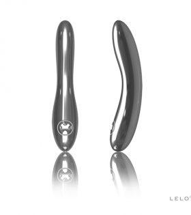 Сребърен вибратор Lelo - Inez Vibrator Silver