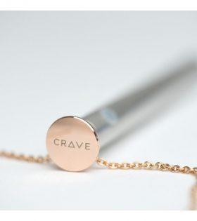 Crave - Vesper Vibrator Necklace Rose Gold
