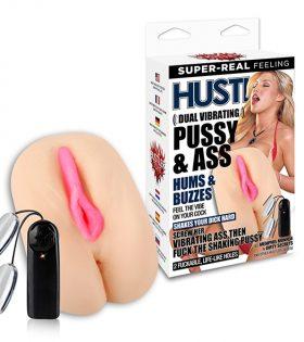 Hustler - Dual Vibrating Pussy & Ass