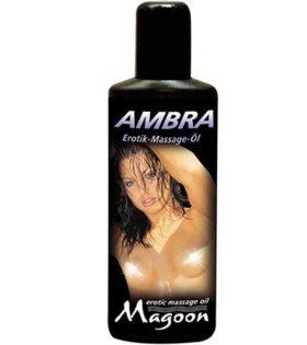 Еротично масажно олио MAGOON 100 ml. Амбра