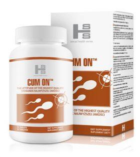 """Таблетки за подобряване на спермата """"Cum On"""""""