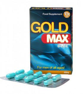 GOLDMAX™ BLUE (10 кап.) – усилвател на мъжката сексуална мощ
