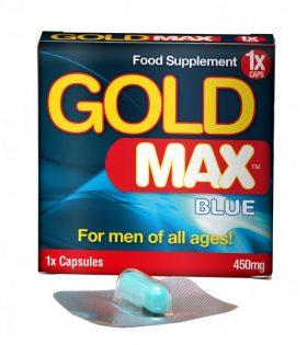 GOLDMAX™ BLUE (1 кап) - усилвател на мъжката сексуална мощ