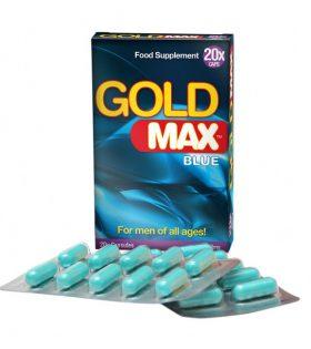 GOLDMAX™ BLUE (20 кап) - усилвател на мъжката сексуална мощ