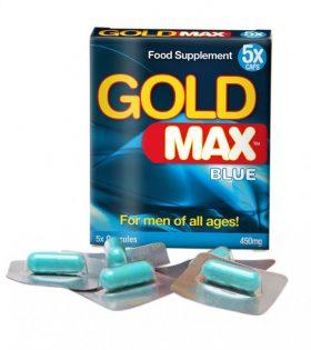 GOLDMAX™BLUE (5 кап) - усилвател на мъжката сексуална мощ