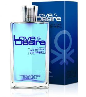 Love&Desire for men, 100 ml- Феромонен парфюм за мъже