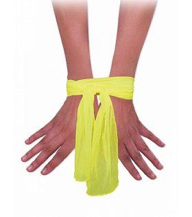 Връзки Neon Love Ties - неоново жълти