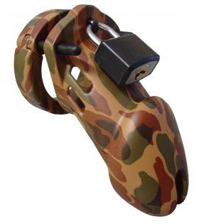 Клетка за пенис CB-6000 Chastity Cage - Camouflage - 35 mm