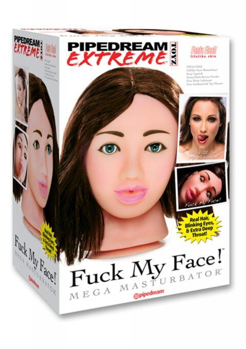 Мастурбатор Fuck My Face - Brunette