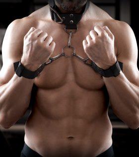 Нашийник с белезници Cuff & Collar Set