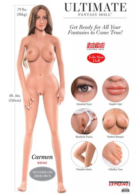 Реалистична кукла Carmen