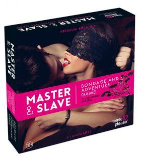 Комплект Master & Slave Bondage Game Magenta (NL-EN-DE-FR-ES-IT-SE-NO-PL-RU)