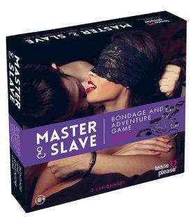 Комплект Master & Slave Bondage Game Purple (NL-EN-DE-FR-ES-IT-SE-NO-PL-RU)