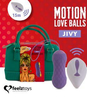 Вагинални топчета FeelzToys - Remote Controlled Motion Love Balls Jivy