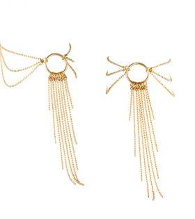 Аксесоар за глезен Bijoux Indiscrets - Magnifique Feet Chain Gold