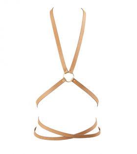 Дамски колан Bijoux Indiscrets - Maze Multi Position Body Harness Brown