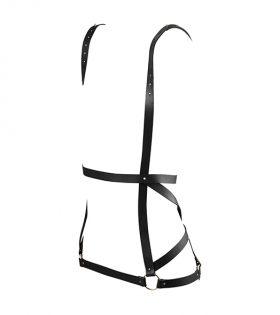 BDSM дамски колан Maze Arrow Dress Harness-черен