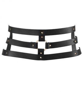 Дамски колан Bijoux Indiscrets - Maze Wide Belt Black