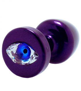 Разширител с кристал Swarovski - лилав