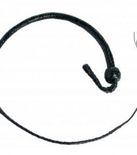 Кожен камшик 3 Foot Snakewhip 12 Plait - Black