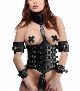 Кожен ограничител Ultimate Lockdown Female Waist Cincher