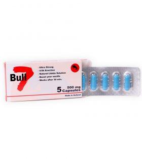 Bull 7- Секс стимулант за мъже и жени - 5 капсули