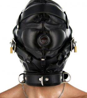 Ограничител качулка Strict Leather Sensory Deprivation Hood