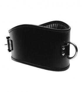 Широк нашийник Padded Leather Locking Posture Collar