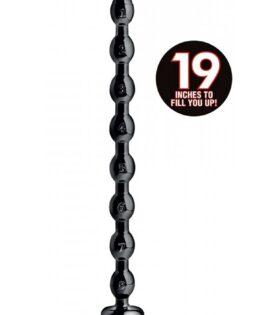 "1.5"" Beaded Hose -19"" Long - Black"