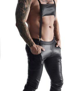 3/4 Men's bavarian style pants - Black