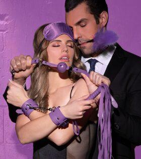 Beginners Bondage Kit - Purple