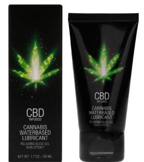 CBD Cannabis Waterbased Lubricant - 50 ml