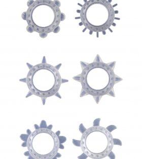 Cock Ring Set - Transparent