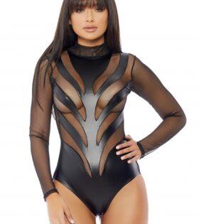 Excitement Bodysuit - Black