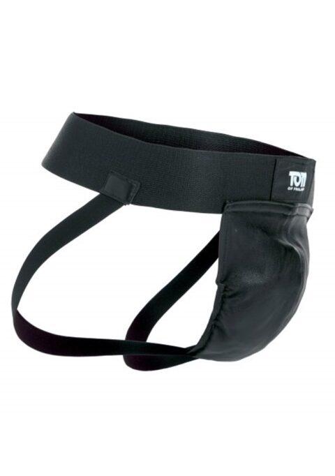 Leather Jockstrap M/L - Black