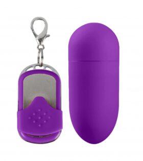 MACEY remote control vibrating egg - Purple