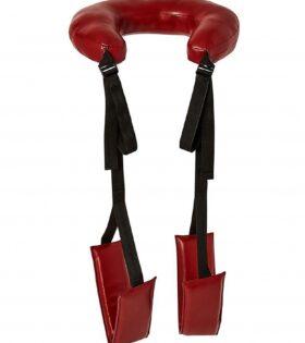 Saffron Thigh Sling - Red