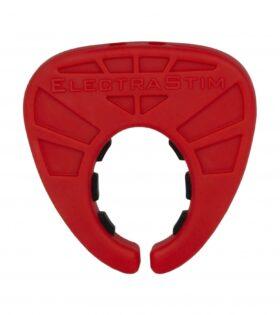 """Silicone Fusion """"Viper"""" Cock Shield - Red"""