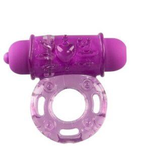 Vibrating Bullet Ring - Purple
