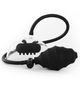 Vibrating Pussy Pump - Black